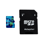 Karta pamięci micro SD HC 16GB Class 10 + Adapter SD